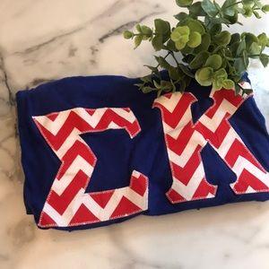 Patriotic Sigma Kappa Stitch